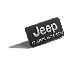 "Badge ""Jeep Authentic Accessories"""